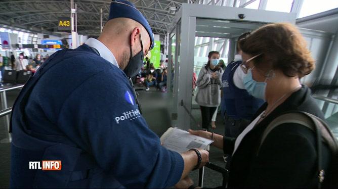 Coronavirus: contrôles renforcés des documents sanitaires à Brussels Airport