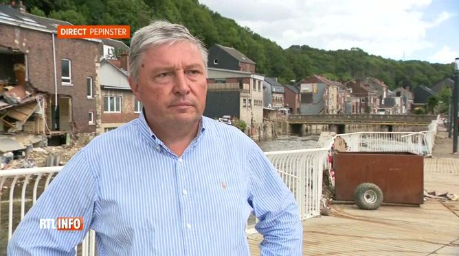 Pepinster: Philippe Godin se plaint du manque d'aide depuis le drame