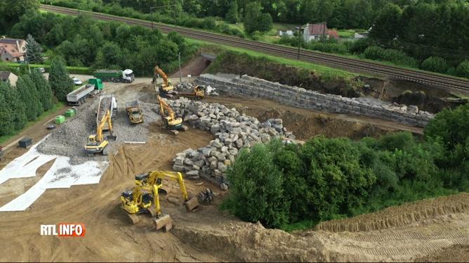 Inondations: toujours pas de trains roulant entre Gembloux et Ottignies