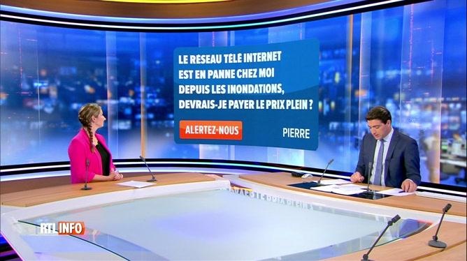 Inondations: RTL INFO répond à vos questions avec Amélie Schildt