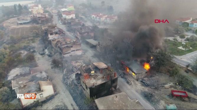 3 morts et des dizaines de blessés en Turquie après un feu de forêt